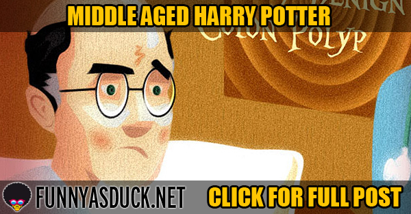 Middle Aged Harry Potter