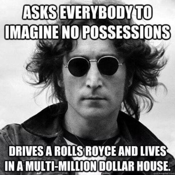 Scumbag John Lennon