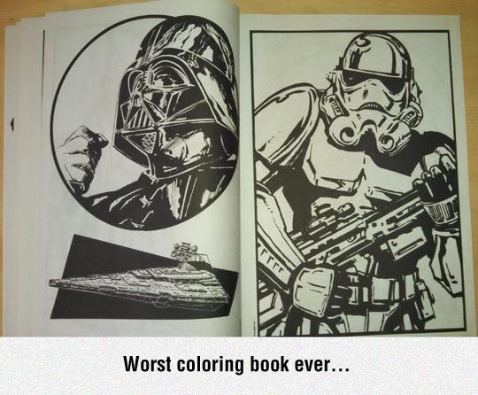 Worst Coloring Book Ever
