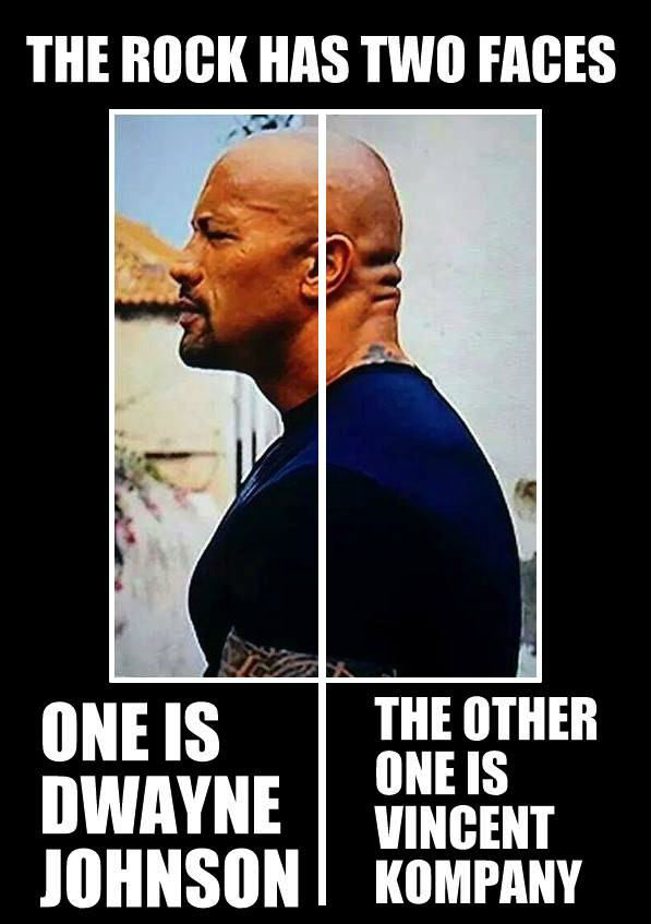 The Rock Has Two Faces