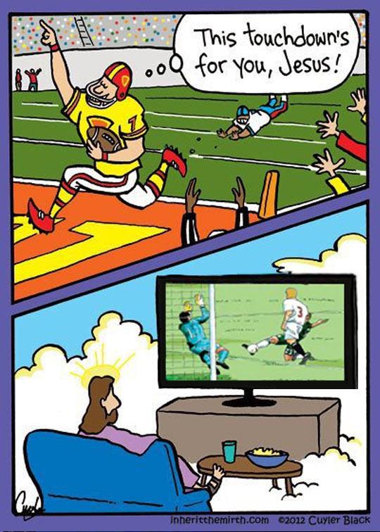Jesus Likes Soccer
