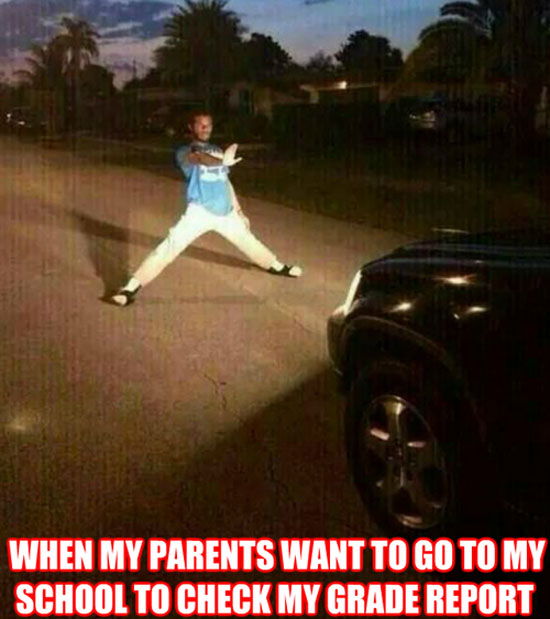 Parents Want To Go To School