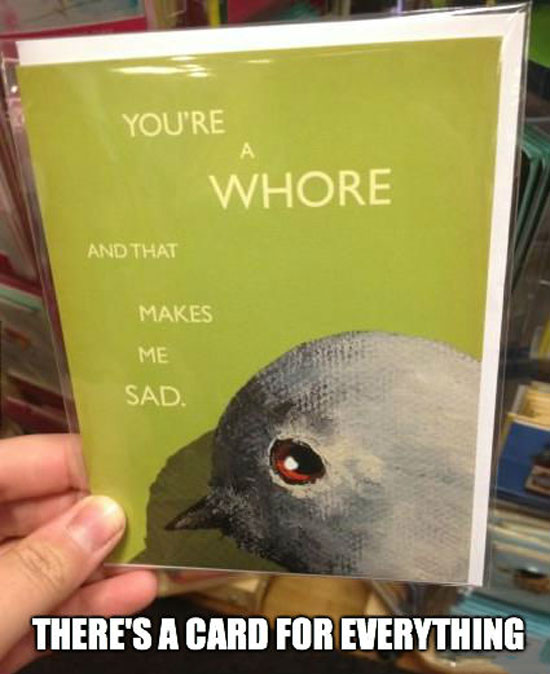 A Card For Everything