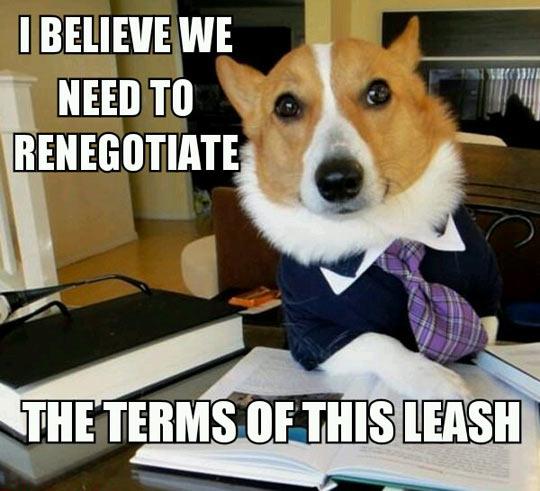 Renegotiate