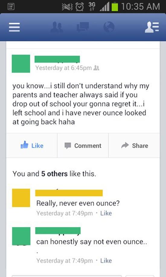 Not Even Ounce