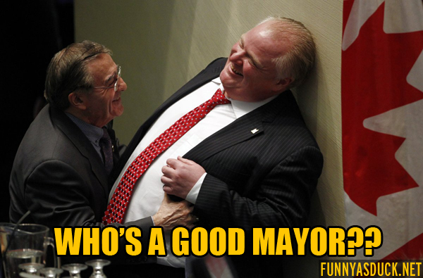 Who's A Good Mayor?