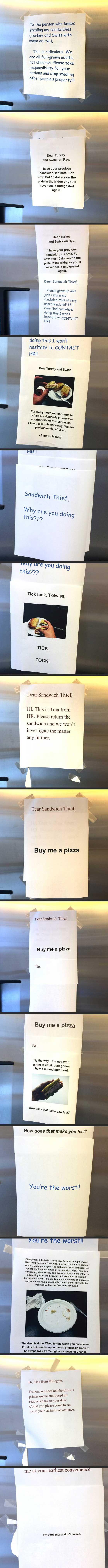 Sandwich Thief