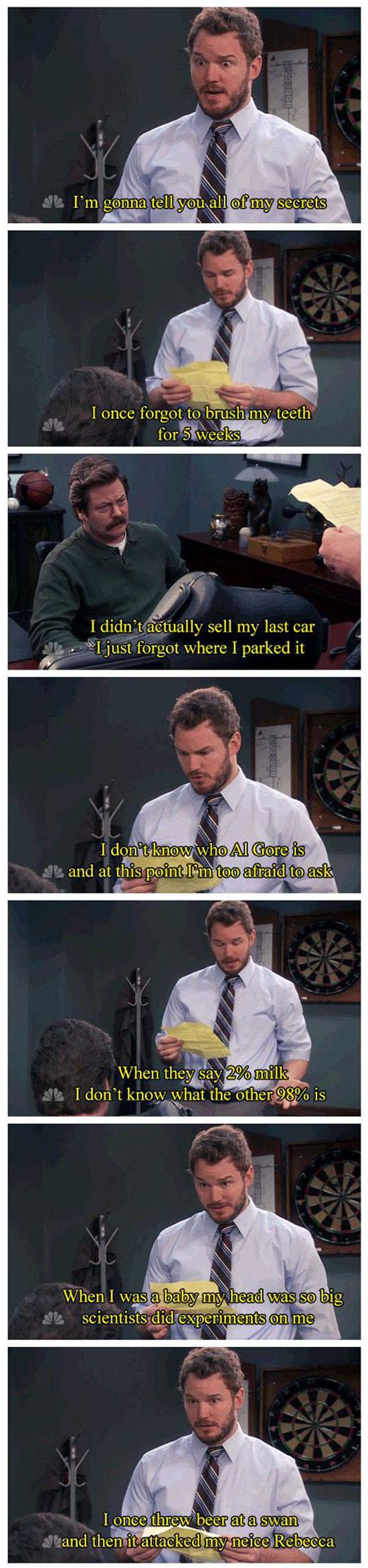 Andy's Secret