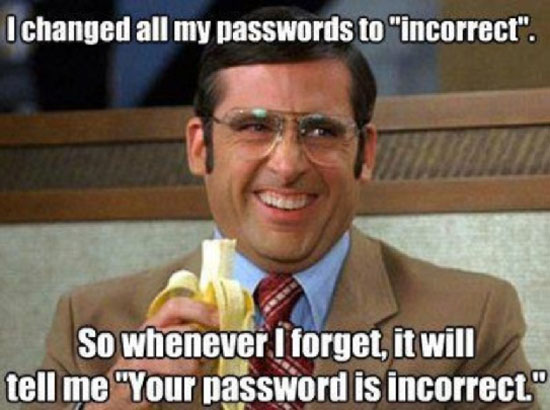Password Is Incorrect
