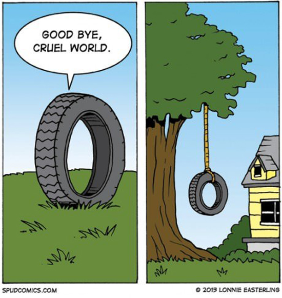 Good Bye, Cruel World