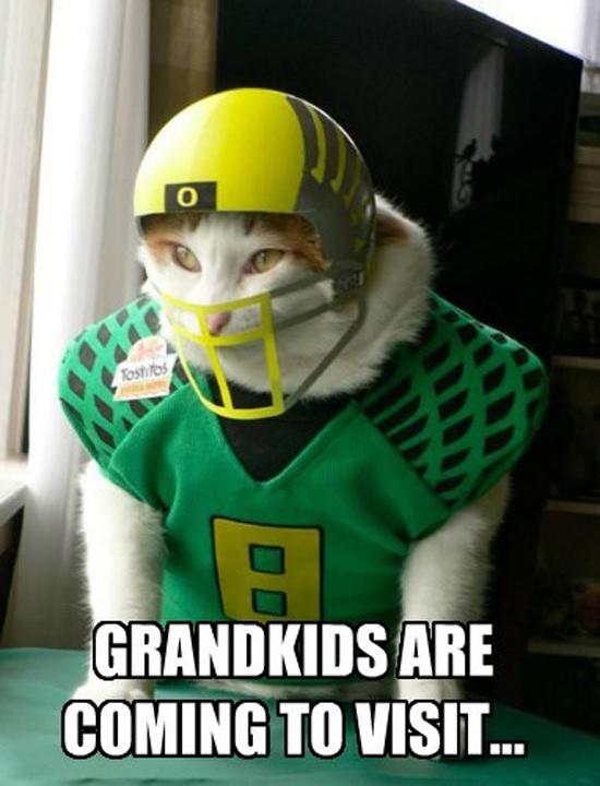 Grandkids Visit