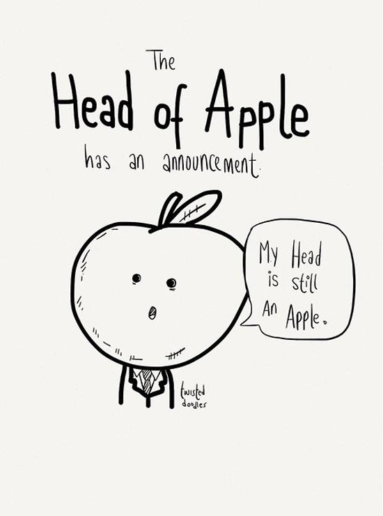 Head Of Apple