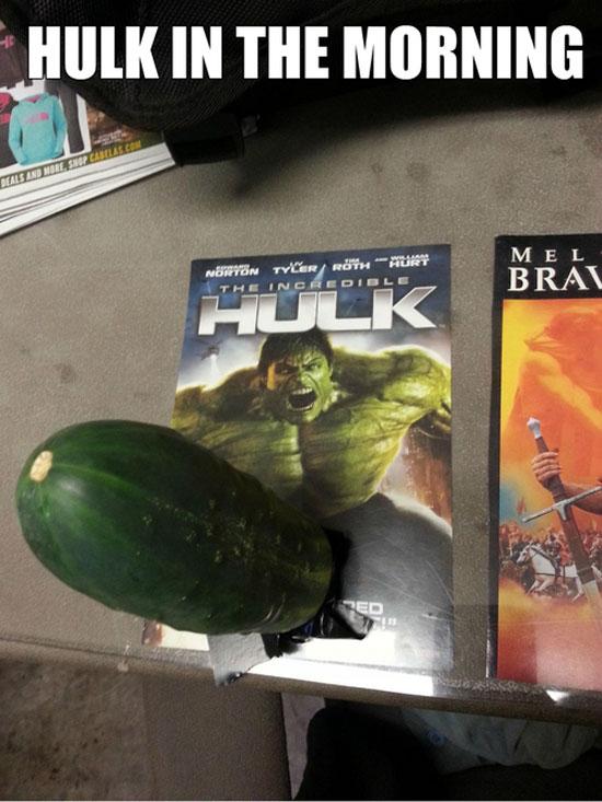 Hulk In The Morning