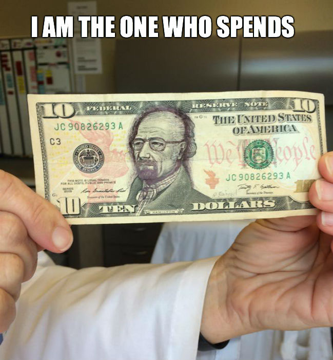 I Am The One Who Spends