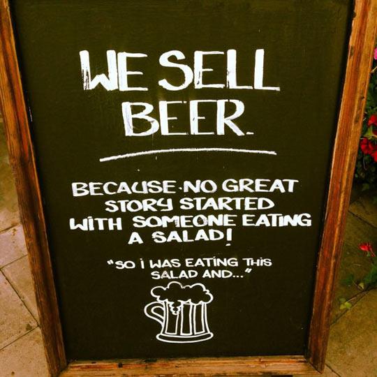 We Sell Beer