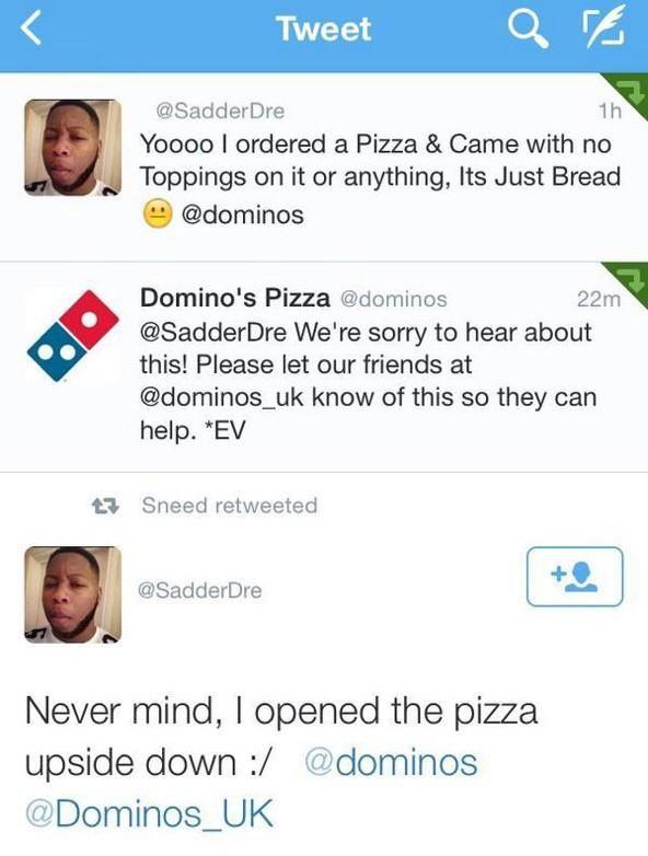 Pizza Complaint