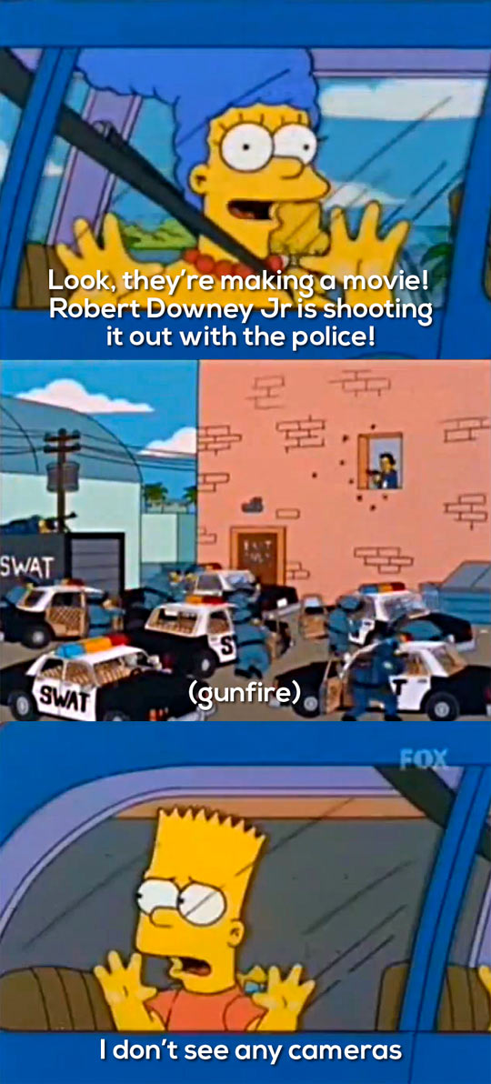 Police Shoot Out