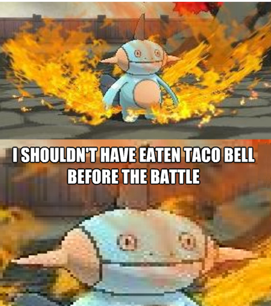 Taco Bell Before Battle