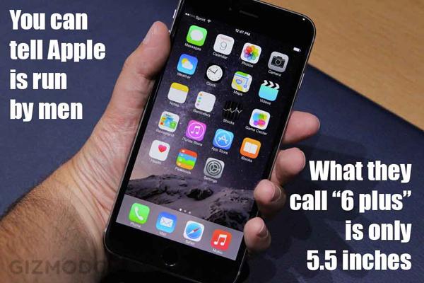 Apple Run By Men