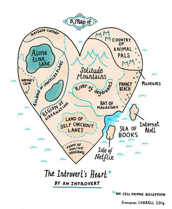 The Introverts Heart