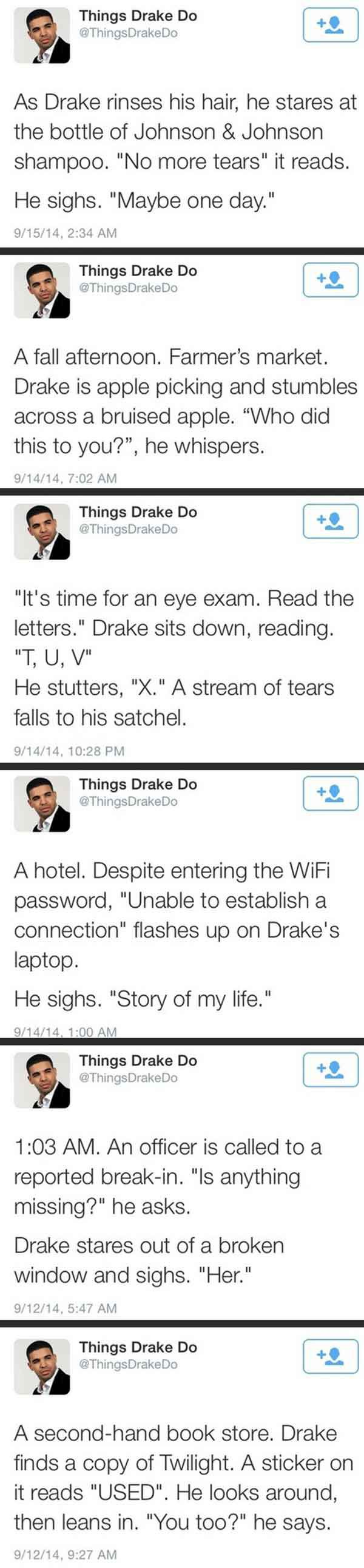 Things Drake Do