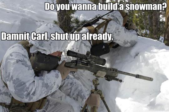 Carls Seen Frozen