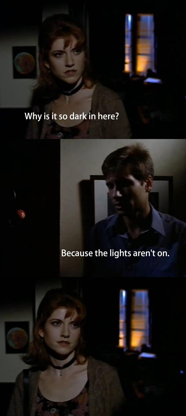 Why Is It So Dark?