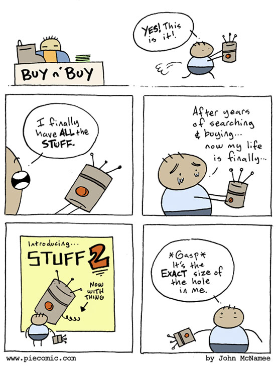 Buy All The Stuff