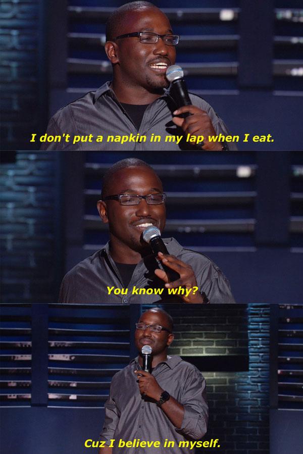 Napkin In My Lap