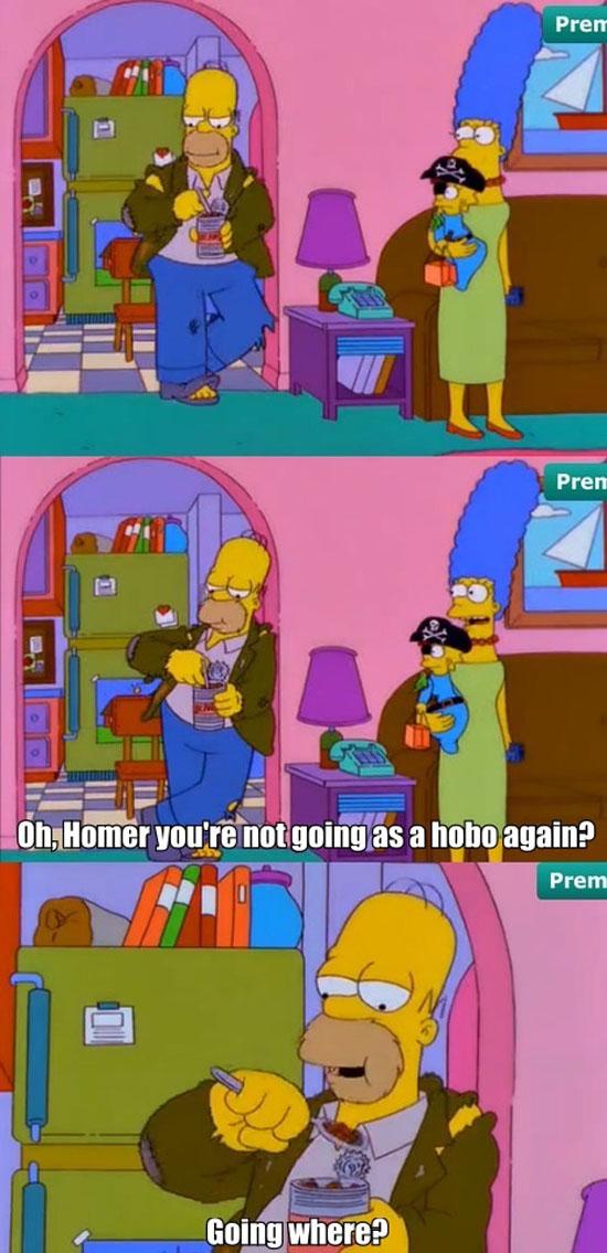 Homer's Costume