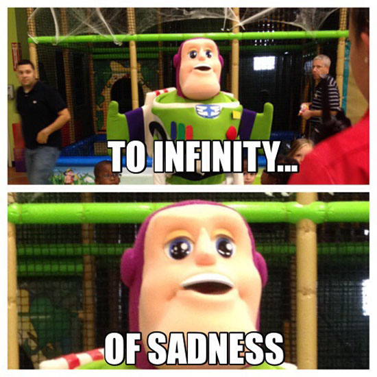 Sad Lightyear