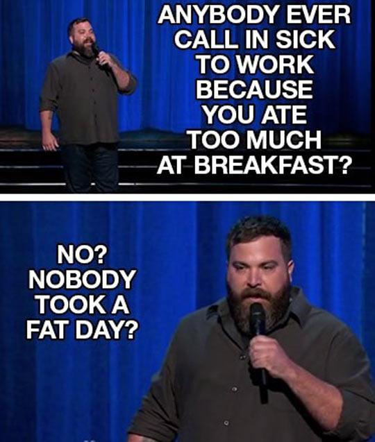 Too Much Breakfast