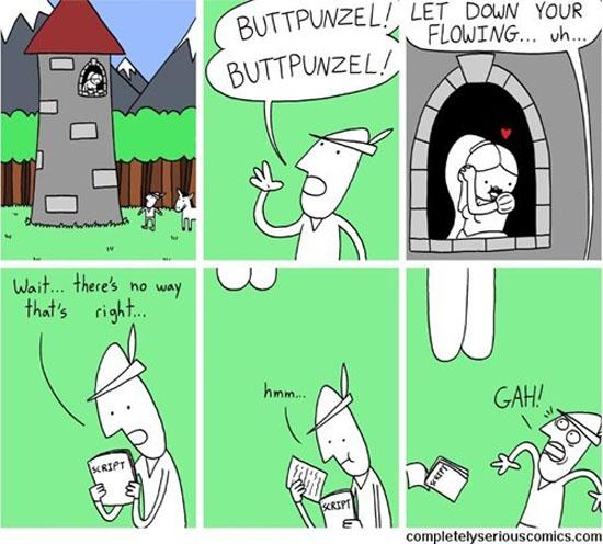 Buttpunzel