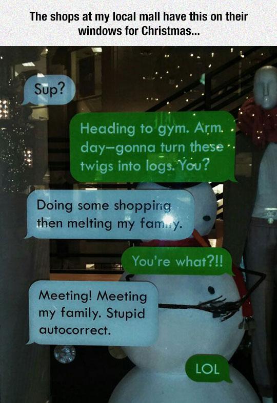 Window Texting