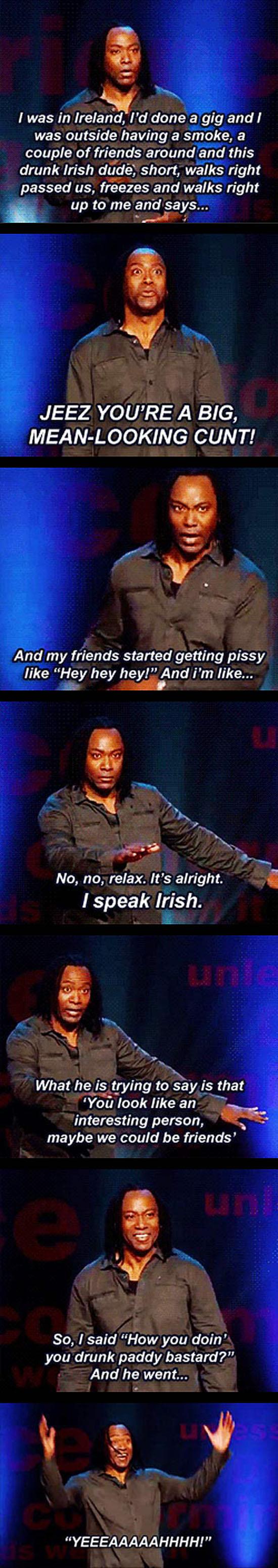 Drunk Irishman