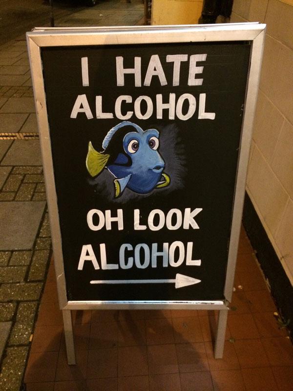 I Hate Alcohol