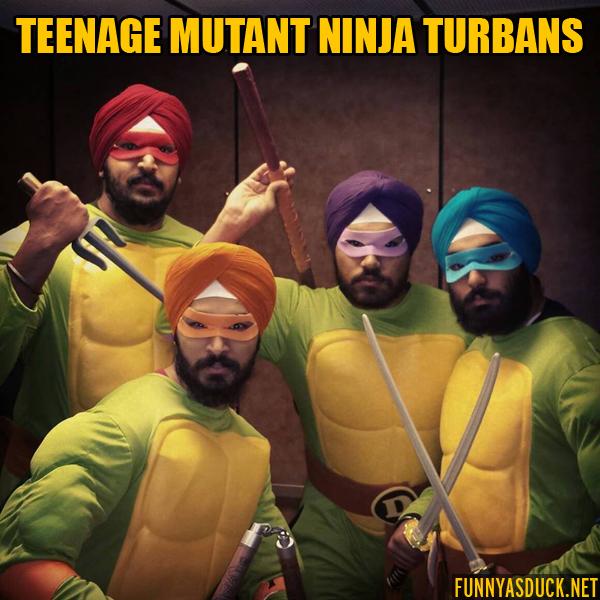 Teenage Mutant Ninja Turbans