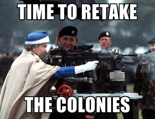Retake The Colonies