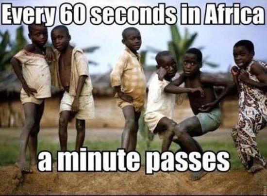 60 Seconds In Africa
