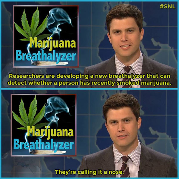 Marijuana Breathalyzer