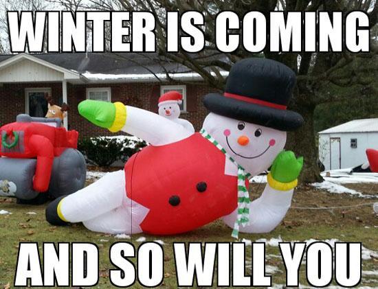 Seductive Snowman
