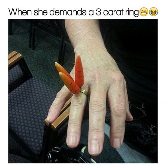 3 Carat Ring