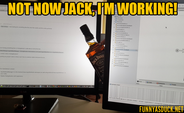 Not Now Jack