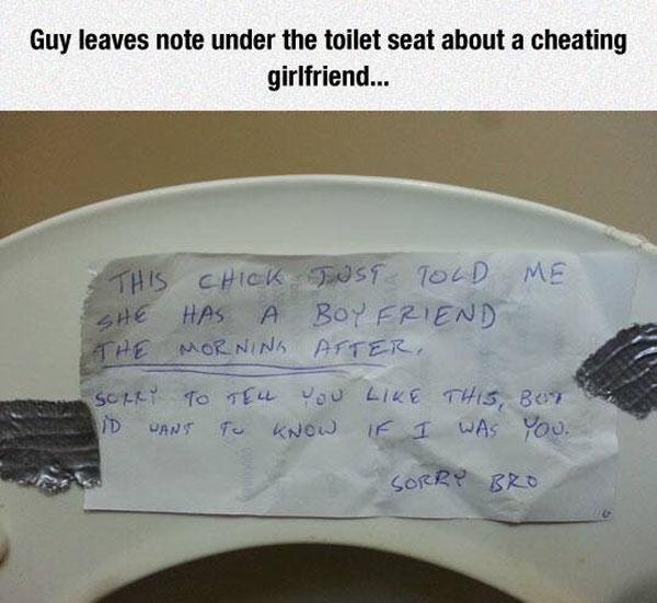 Cheating Girlfriend