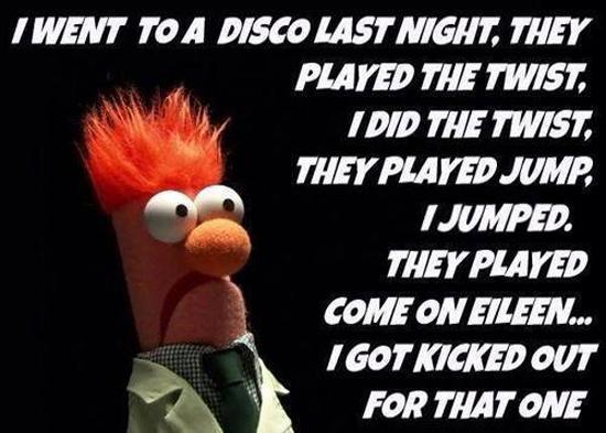 I Went To A Disco